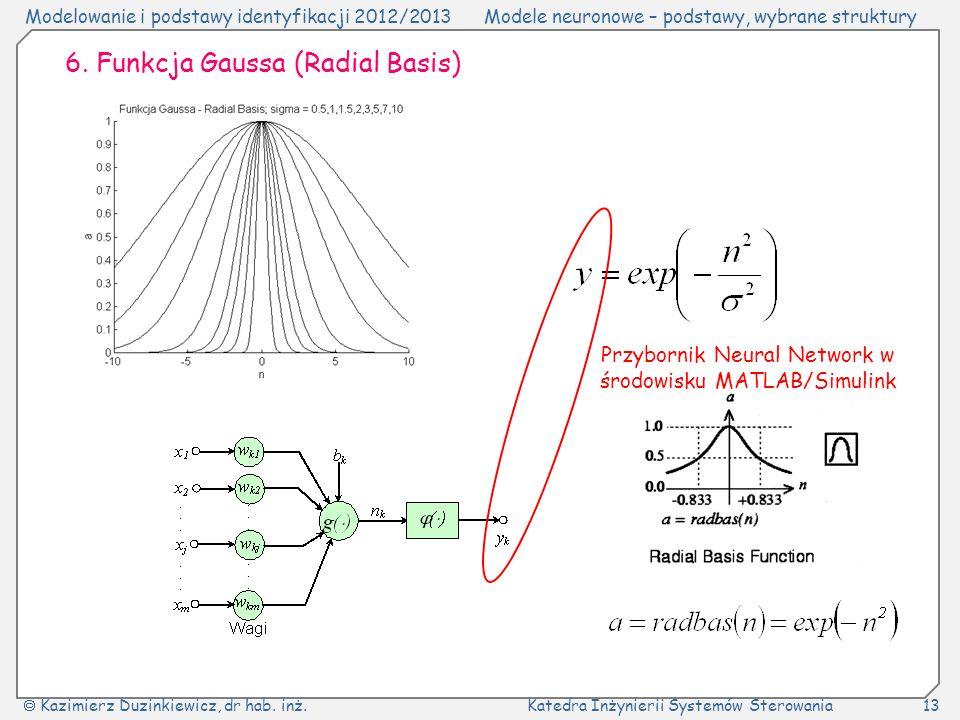 Przybornik Neural Network w środowisku MATLAB/Simulink