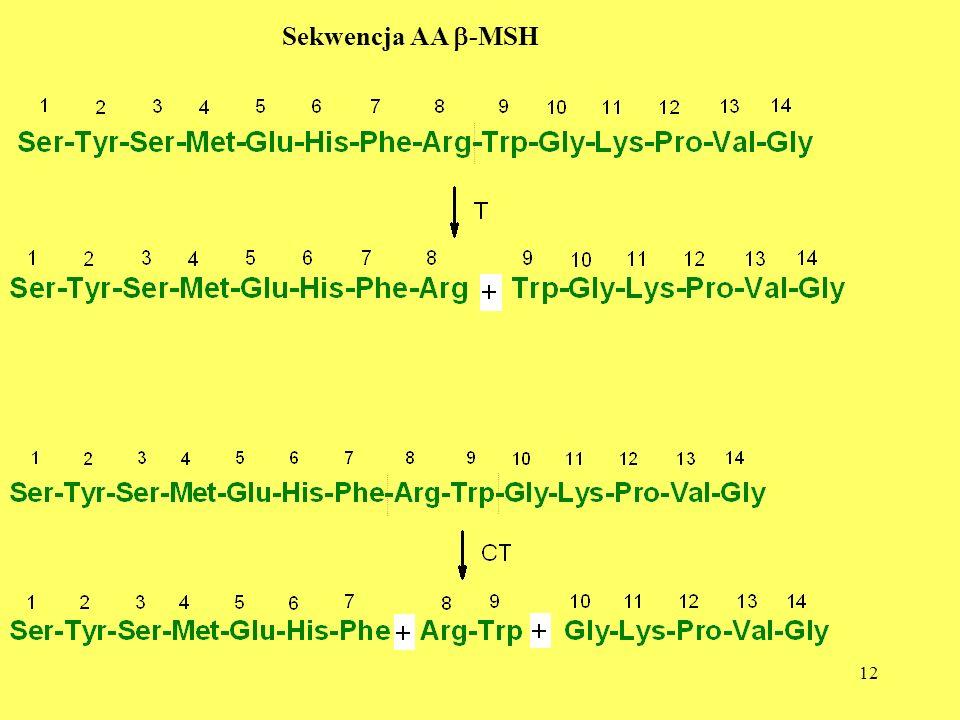 Sekwencja AA b-MSH