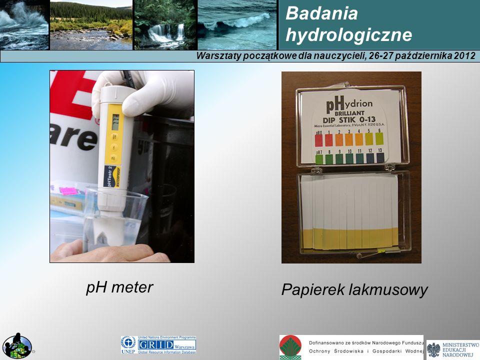 pH meter Papierek lakmusowy