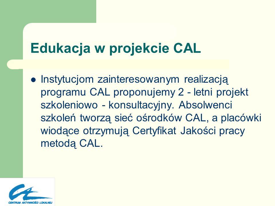 Edukacja w projekcie CAL