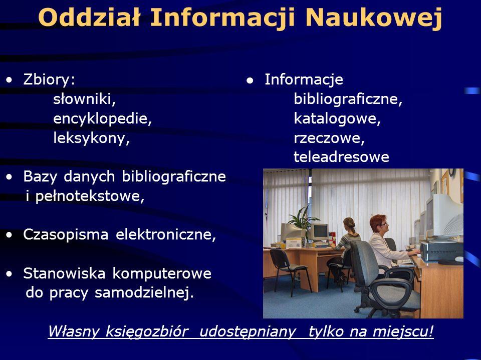 Oddział Informacji Naukowej