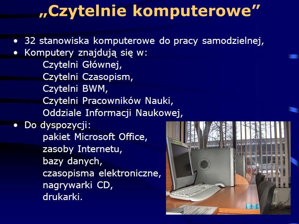 """""""Czytelnie komputerowe"""