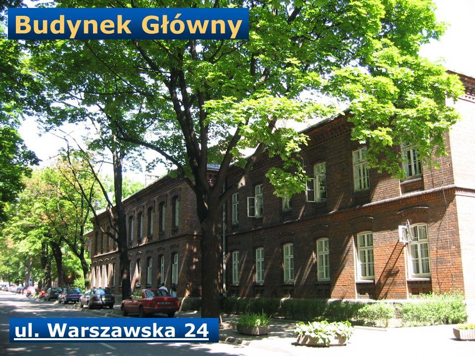 Budynek Główny ul. Warszawska 24