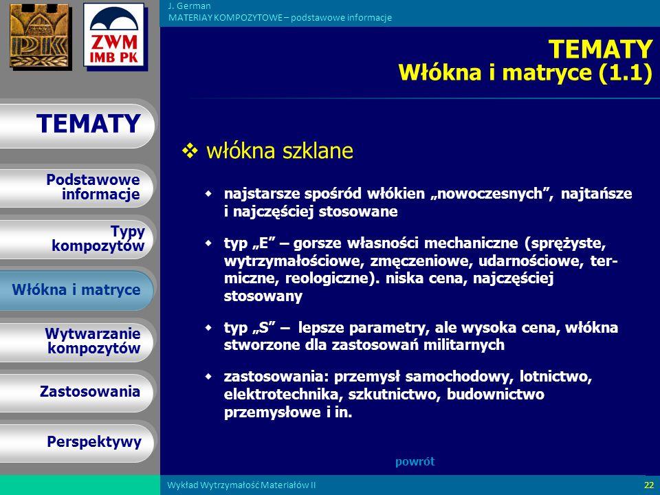 TEMATY Włókna i matryce (1.1)