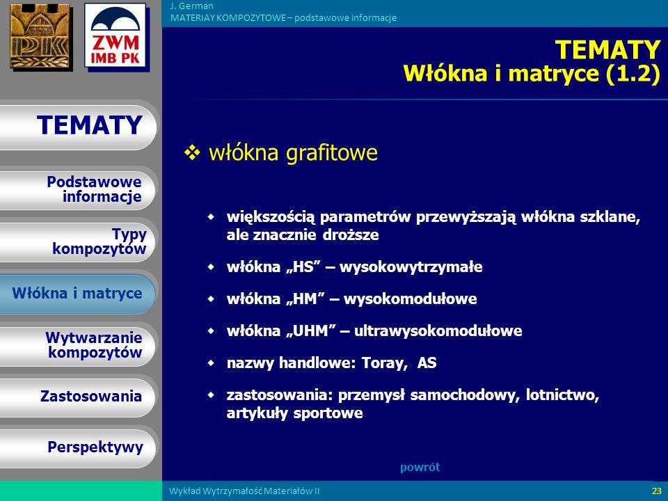 TEMATY Włókna i matryce (1.2)