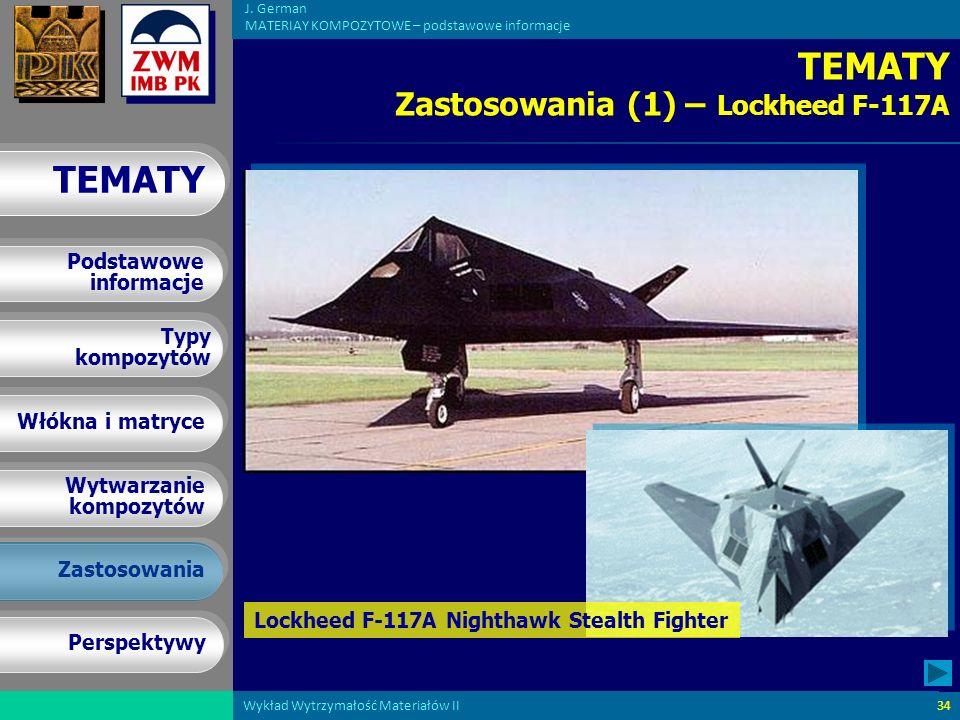 TEMATY Zastosowania (1) – Lockheed F-117A