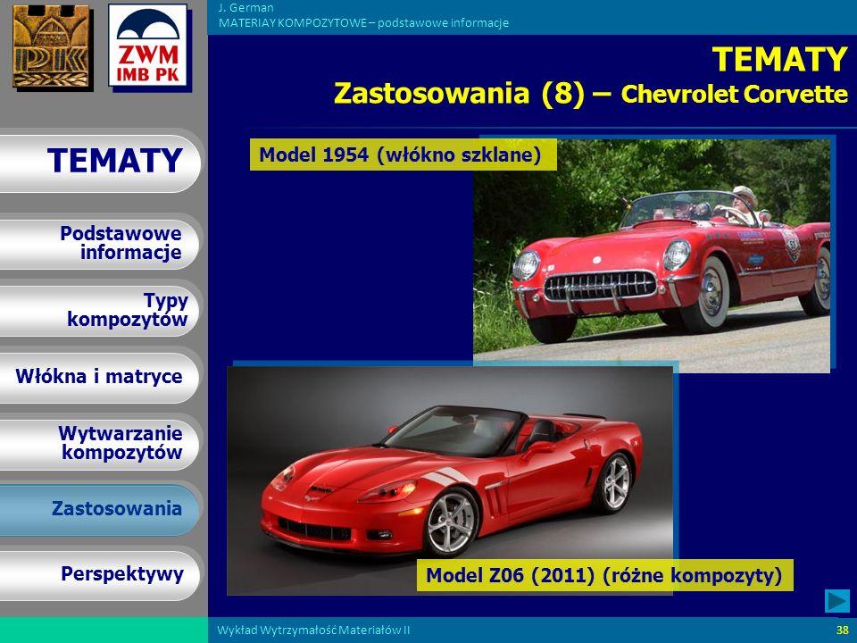 TEMATY Zastosowania (8) – Chevrolet Corvette