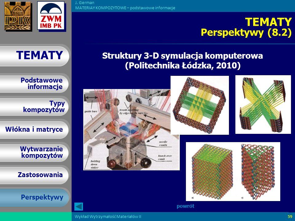 Struktury 3-D symulacja komputerowa (Politechnika Łódzka, 2010)