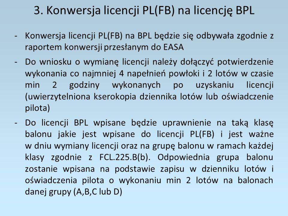 3. Konwersja licencji PL(FB) na licencję BPL