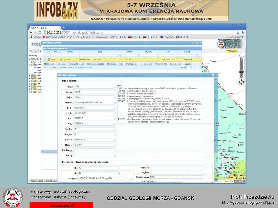 Piotr Przezdziecki Państwowy Instytut Geologiczny