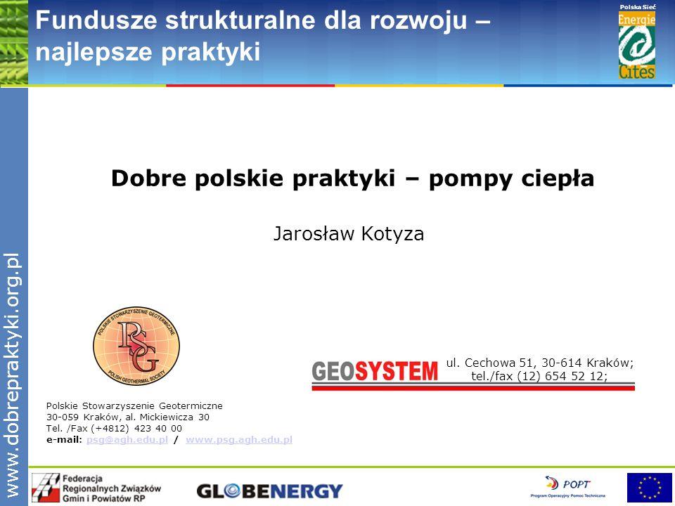 Dobre polskie praktyki – pompy ciepła