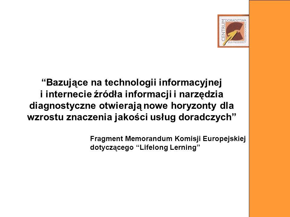 Bazujące na technologii informacyjnej