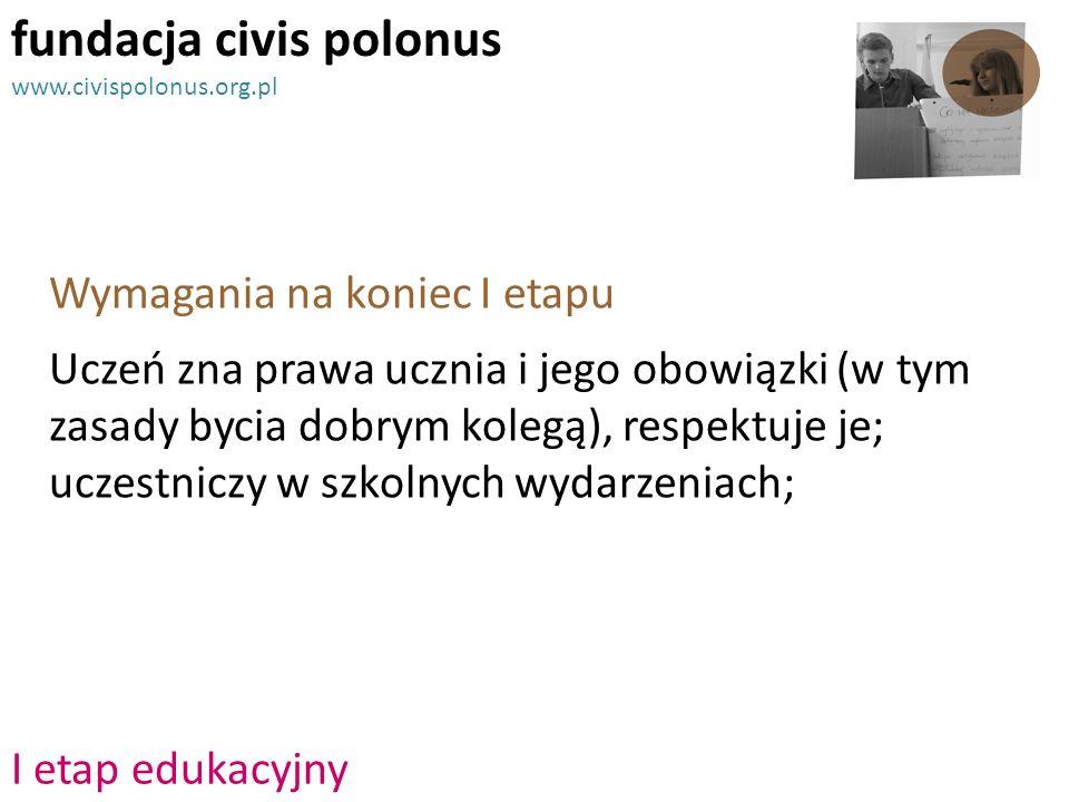 fundacja civis polonus