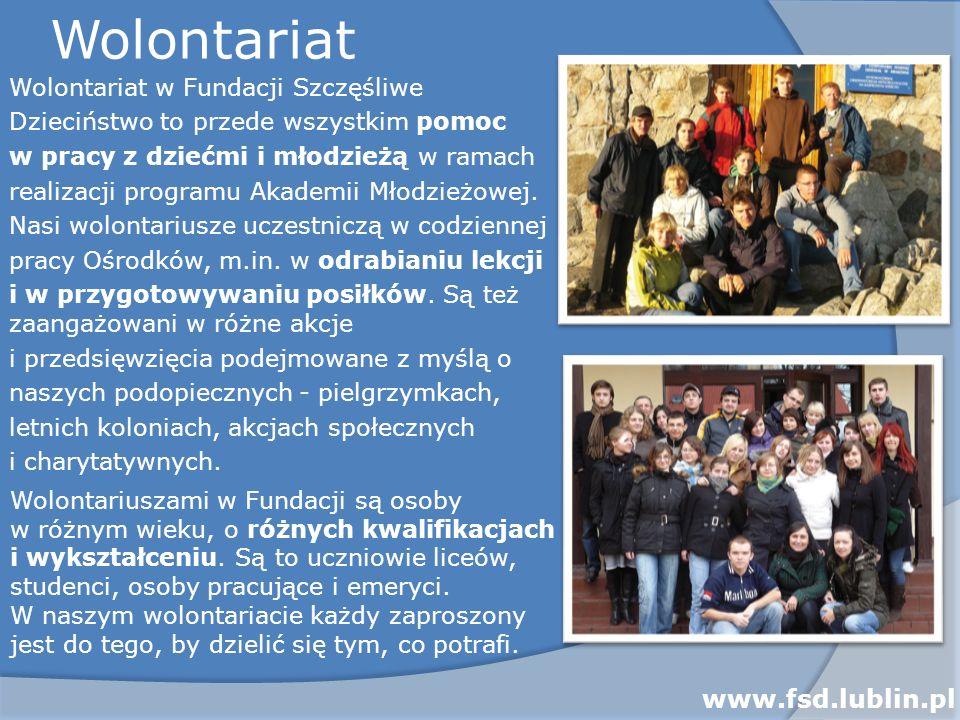 Wolontariat www.fsd.lublin.pl