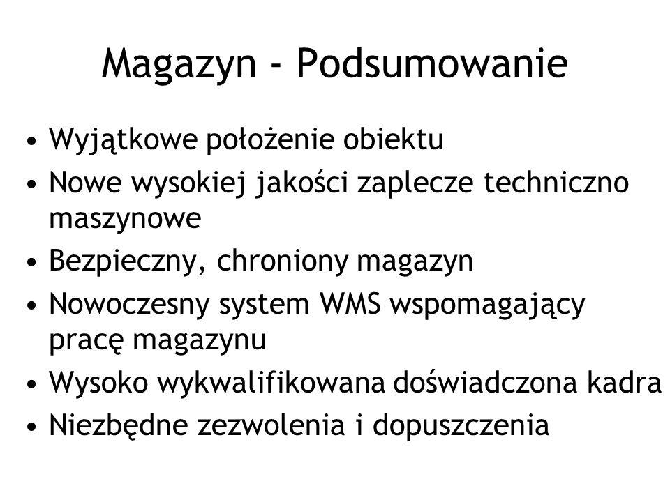 Magazyn - Podsumowanie