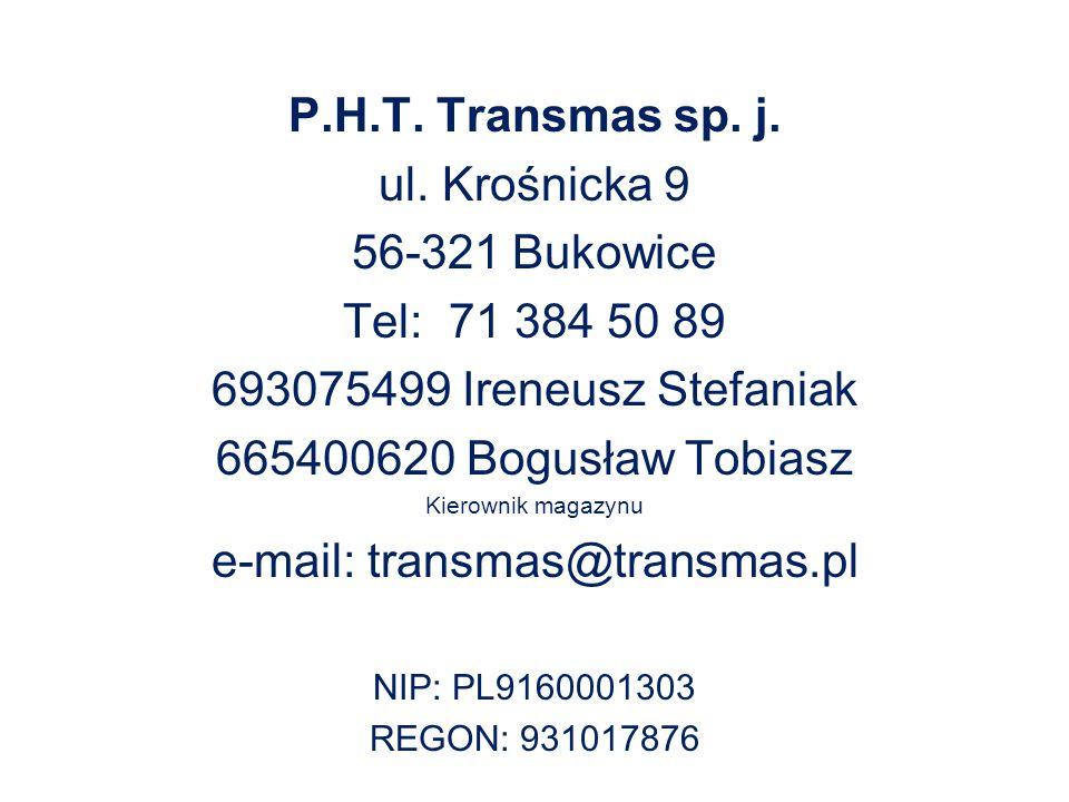 e-mail: transmas@transmas.pl