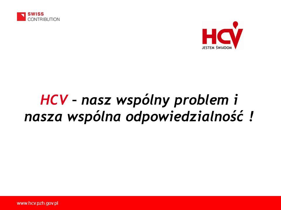 HCV – nasz wspólny problem i nasza wspólna odpowiedzialność !