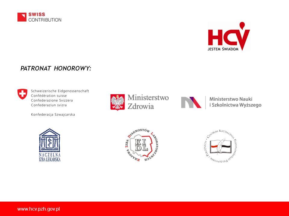 PATRONAT HONOROWY: www.hcv.pzh.gov.pl