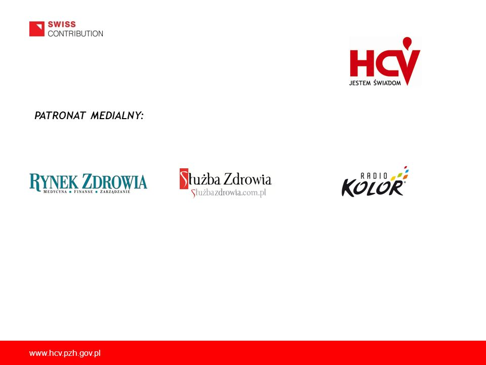 PATRONAT MEDIALNY: www.hcv.pzh.gov.pl