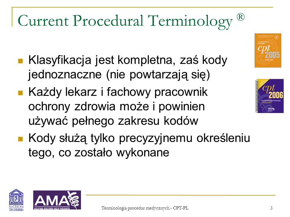 Current Procedural Terminology ®