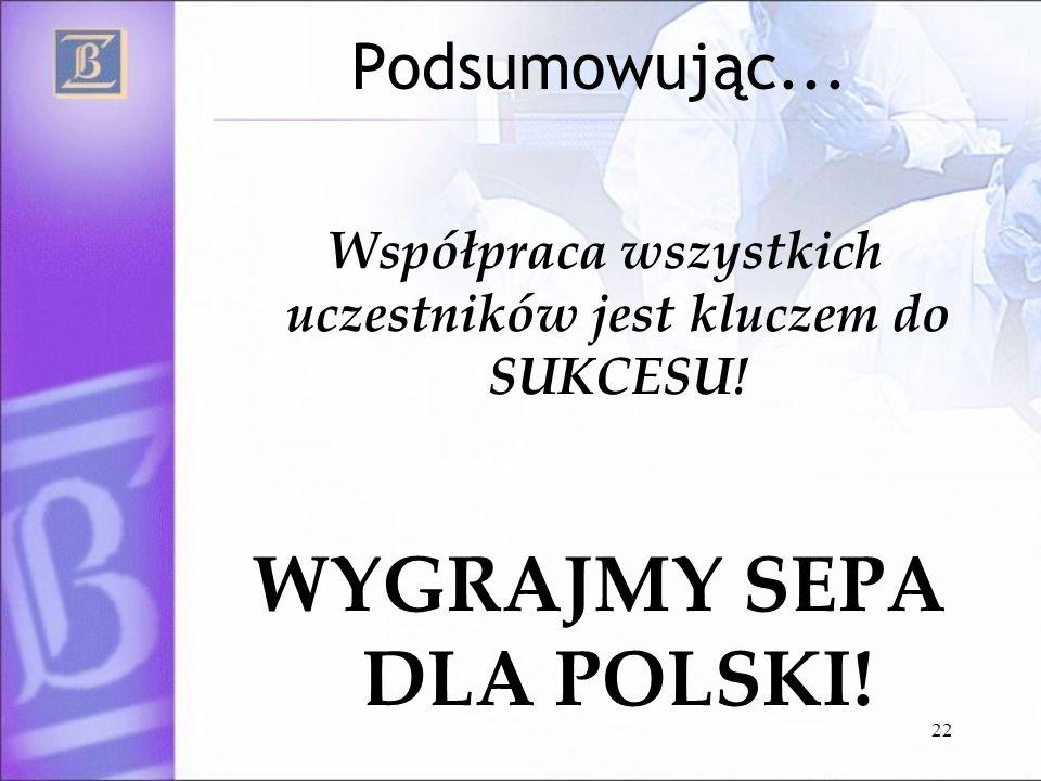 WYGRAJMY SEPA DLA POLSKI!