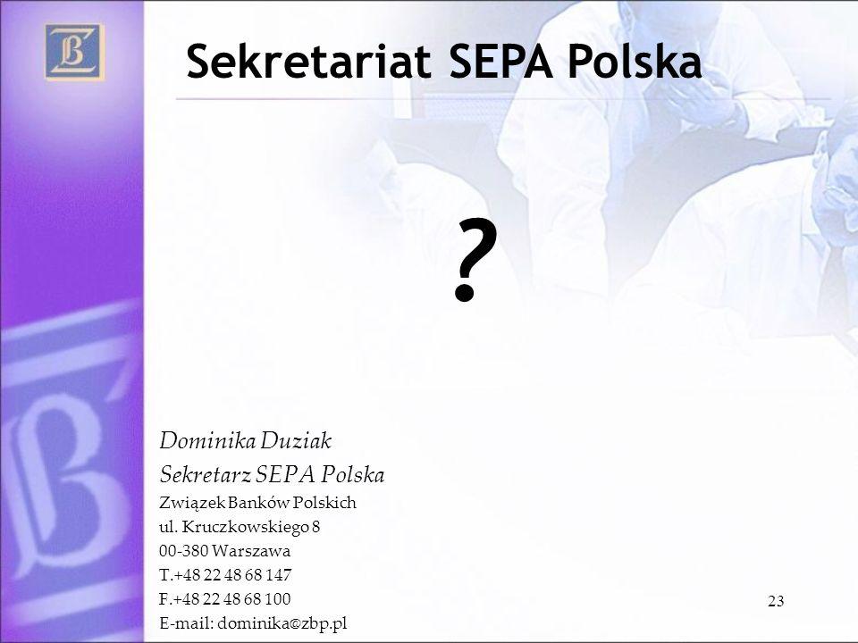 Sekretariat SEPA Polska