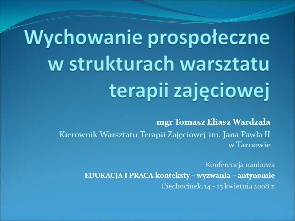 mgr Tomasz Eliasz Wardzała