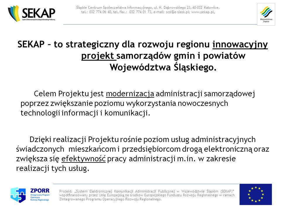 Śląskie Centrum Społeczeństwa Informacyjnego, ul. H