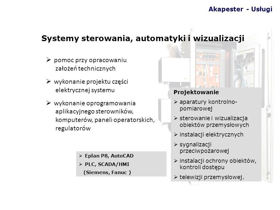 Systemy sterowania, automatyki i wizualizacji