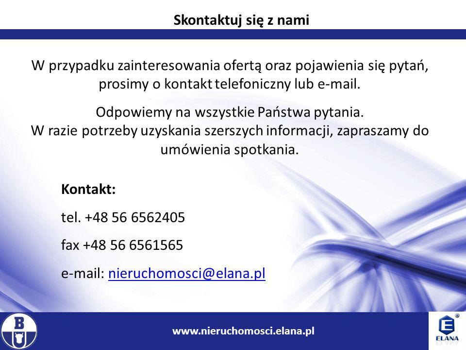 e-mail: nieruchomosci@elana.pl