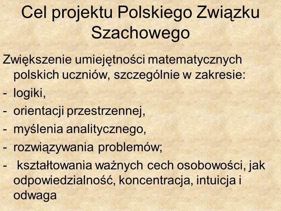 Cel projektu Polskiego Związku Szachowego