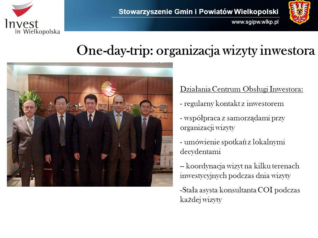 One-day-trip: organizacja wizyty inwestora