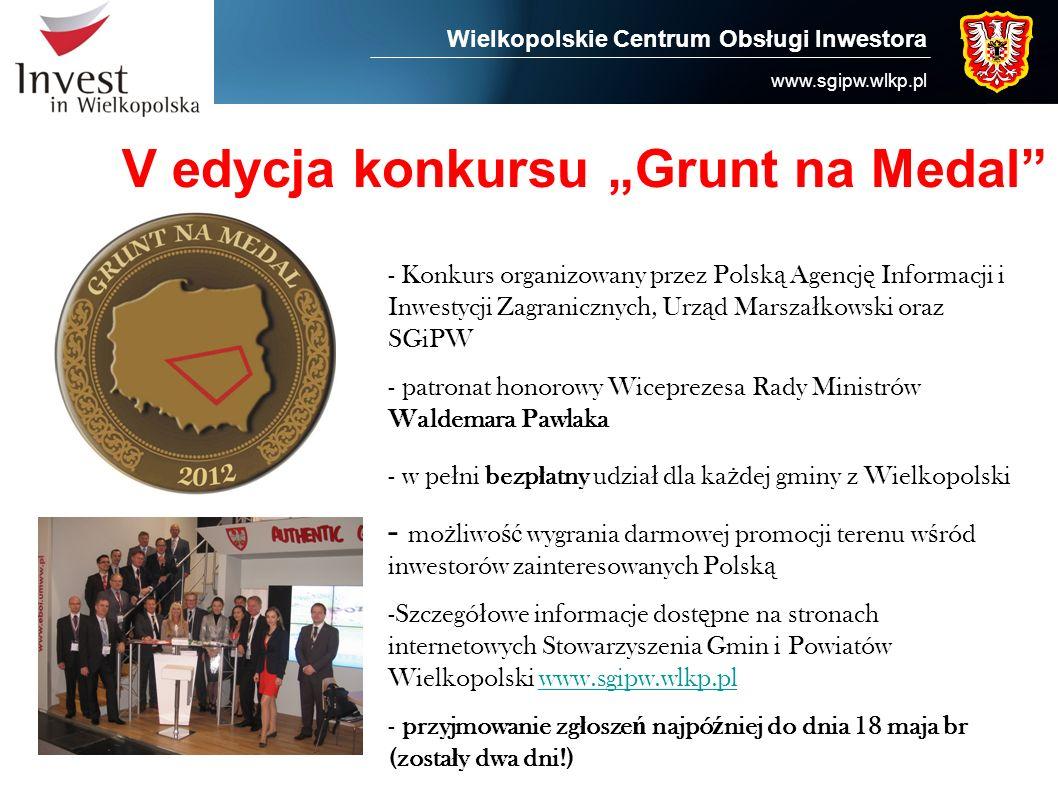 """V edycja konkursu """"Grunt na Medal"""