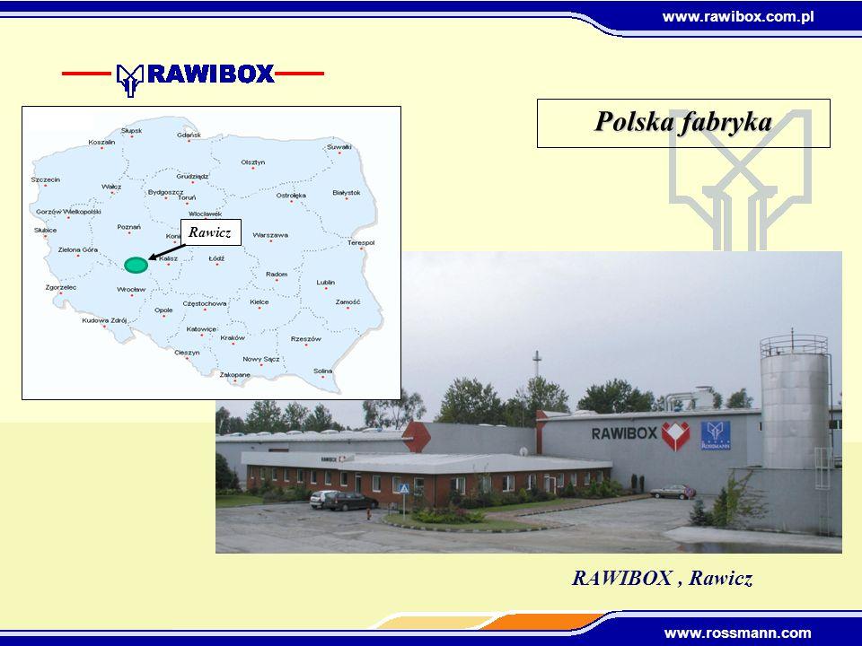 Polska fabryka Rawicz RAWIBOX , Rawicz