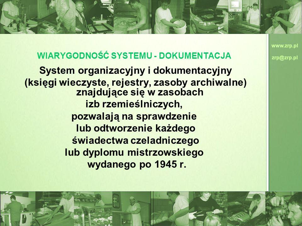WIARYGODNOŚĆ SYSTEMU - DOKUMENTACJA