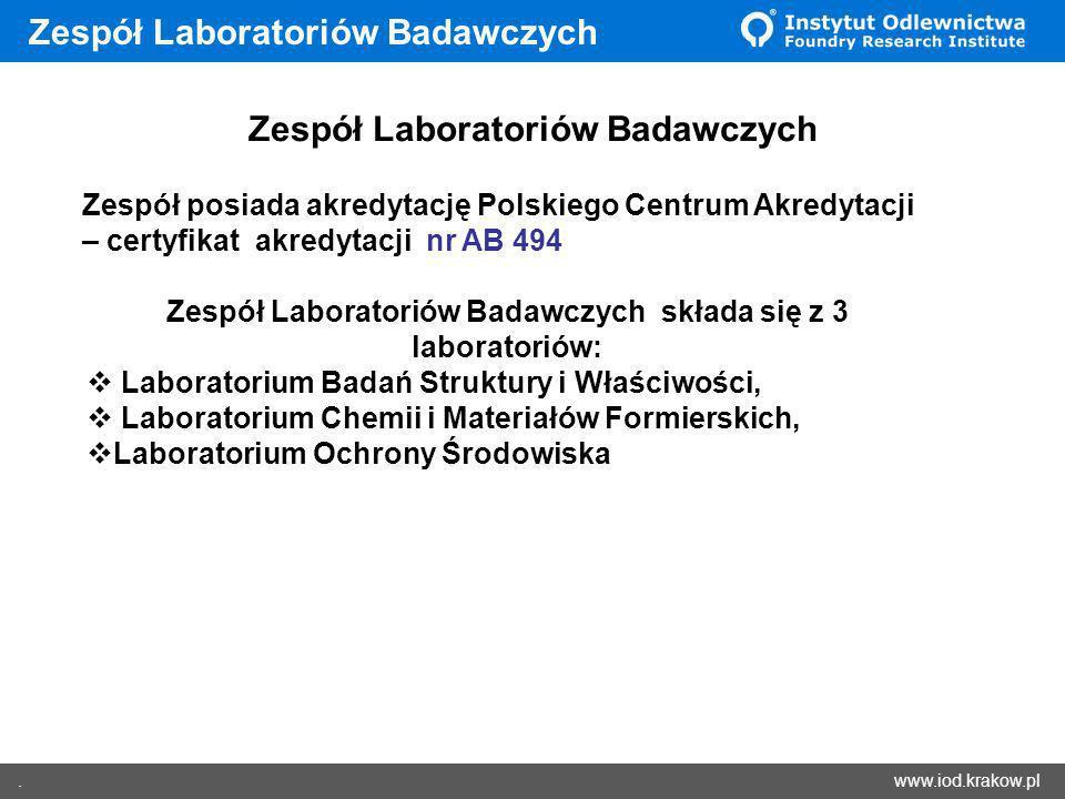 Zespół Laboratoriów Badawczych