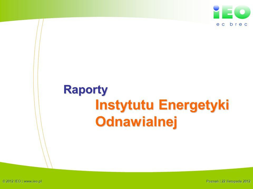 Instytutu Energetyki Odnawialnej