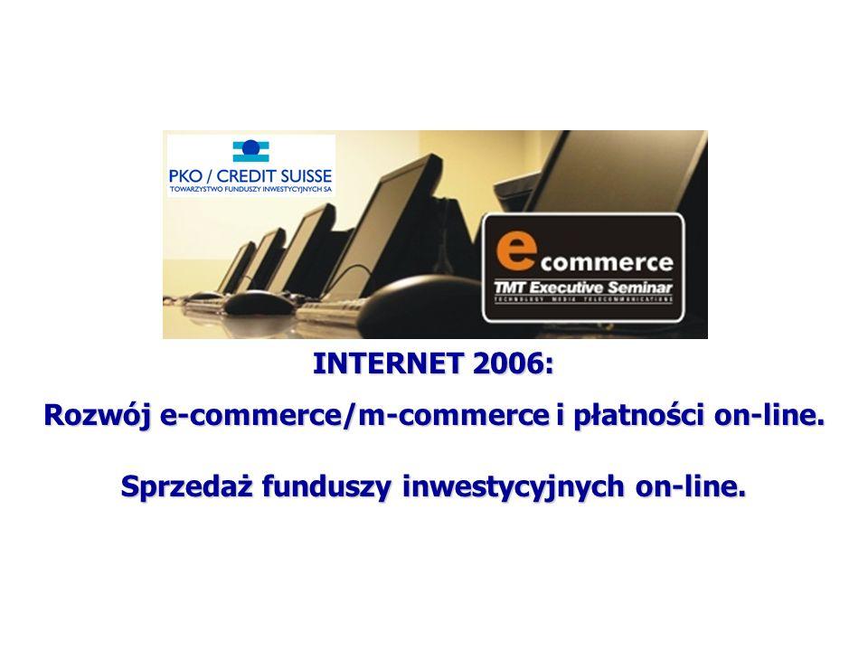 Rozwój e-commerce/m-commerce i płatności on-line.