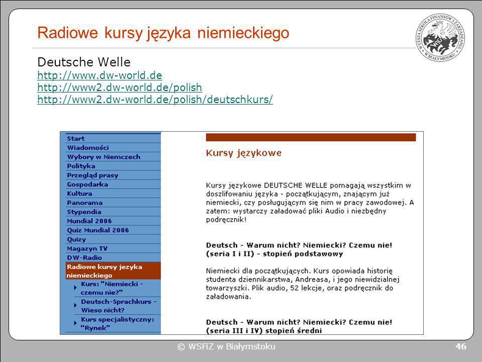 Radiowe kursy języka niemieckiego