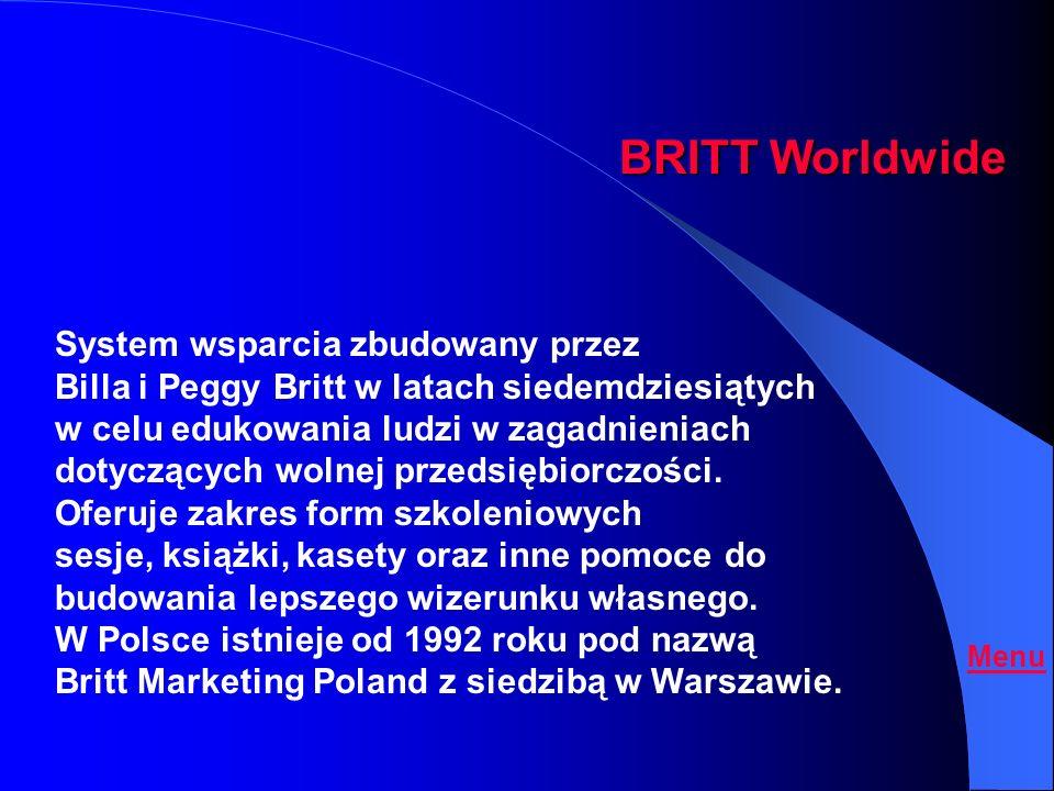 BRITT Worldwide System wsparcia zbudowany przez