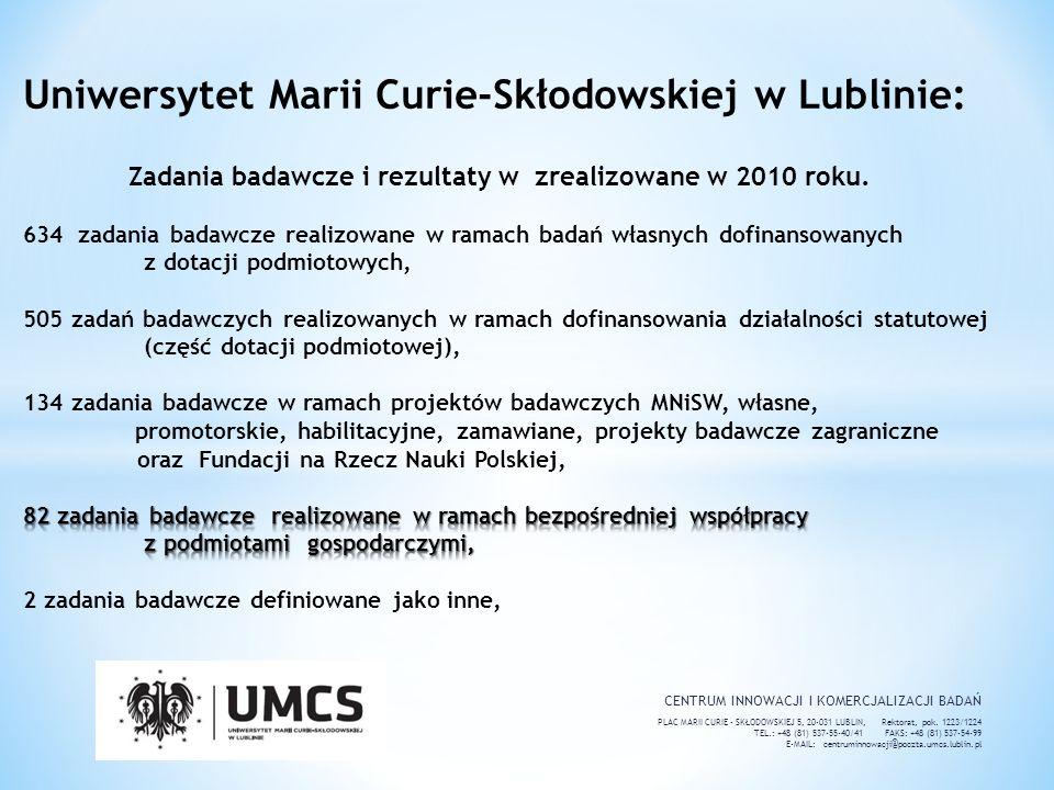 Uniwersytet Marii Curie-Skłodowskiej w Lublinie: