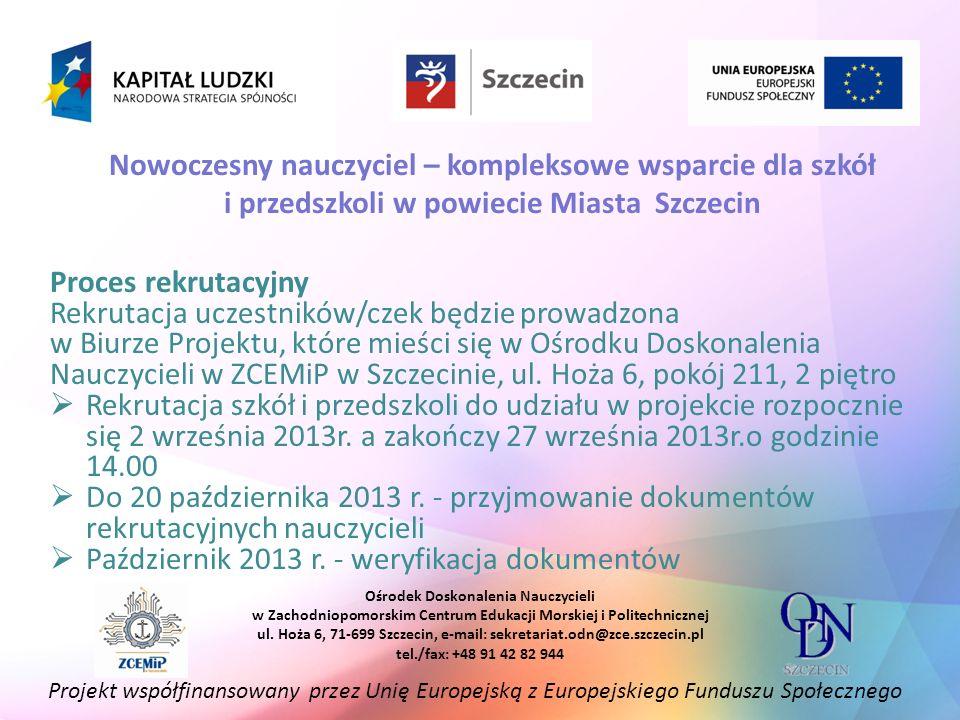 Październik 2013 r. - weryfikacja dokumentów