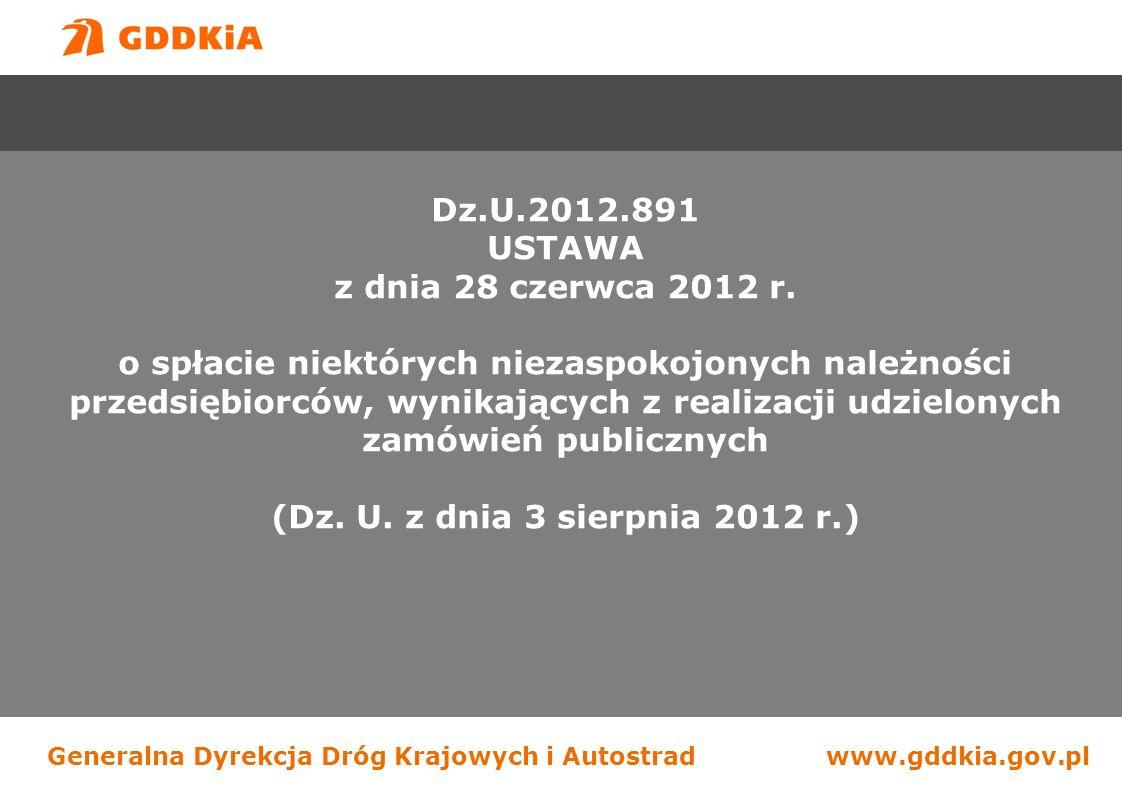 Dz.U.2012.891 USTAWA. z dnia 28 czerwca 2012 r.