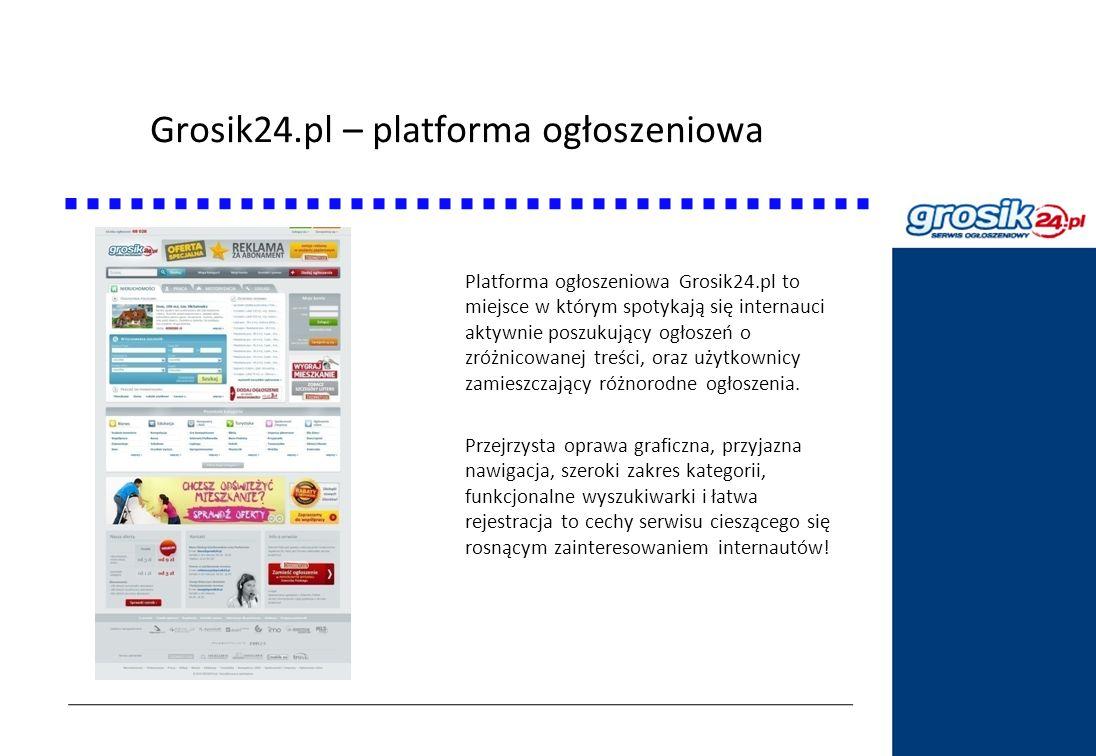 Grosik24.pl – platforma ogłoszeniowa
