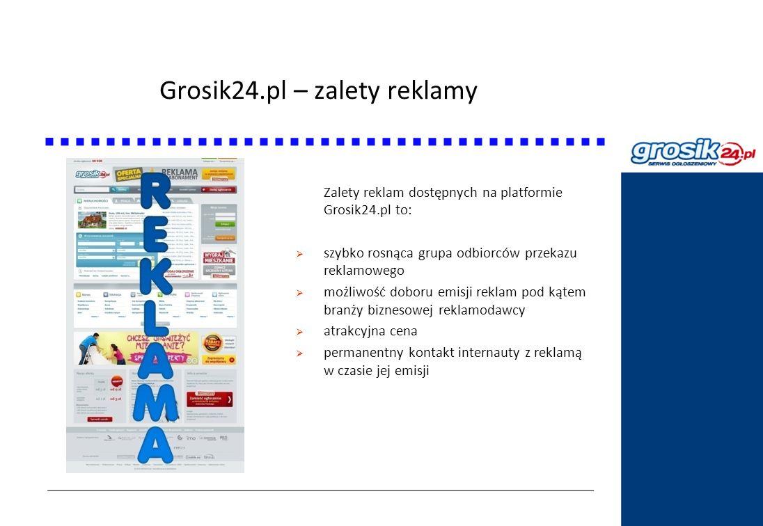 Grosik24.pl – zalety reklamy