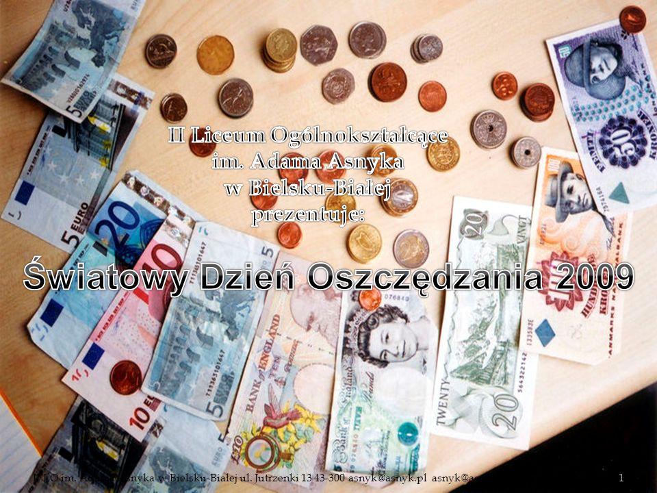 Światowy Dzień Oszczędzania 2009