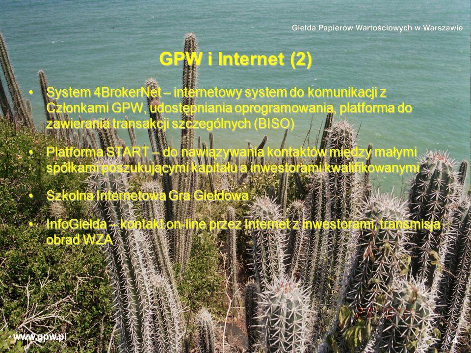 GPW i Internet (2)