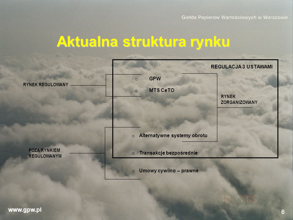 Aktualna struktura rynku
