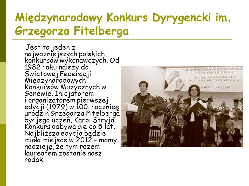 Międzynarodowy Konkurs Dyrygencki im. Grzegorza Fitelberga