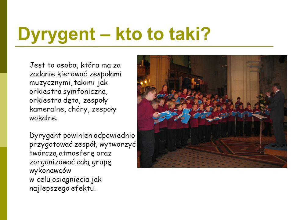 Dyrygent – kto to taki